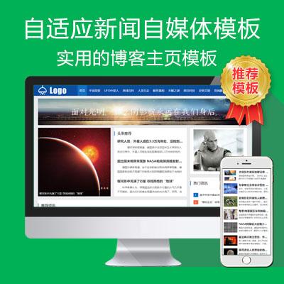 帝国ecms自适应博客新闻自媒体门户模板